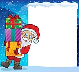 Frame with Santa Claus theme 9