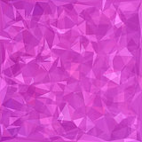 Polygonal Pink Background