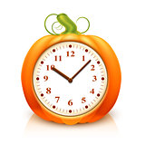 Pumpkin Clock
