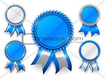 Blue Award Medals