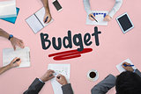 Budget against business meeting