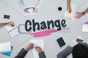 Change against business meeting