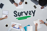 Survey against business meeting