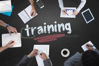 Training against blackboard