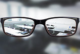 Composite image of glasses