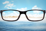 Composite image of glasses