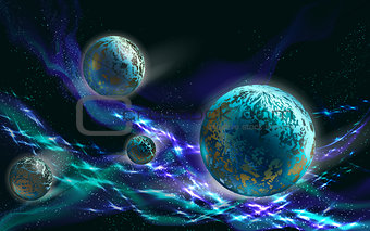 Blue Planets