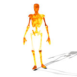 Fire cyborg