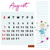 august 2016 kids