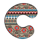 C letter decorated
