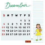 december 2016 kids