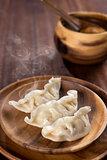 Delicious Chinese Food Dumplings