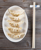 Asian Chinese dish dumplings