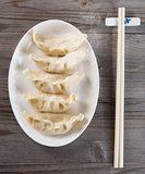 Asian Chinese dish dumplings