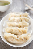 Asian Chinese food fresh dumplings