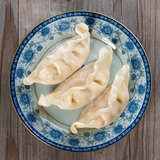 Asian Chinese gourmet fresh dumplings