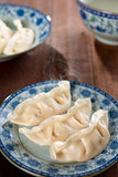 Chinese food boiled dumplings