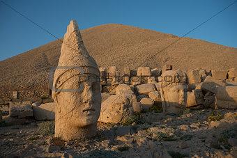 ancient statues  - Mount Nemrut