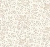 Romantic seamless floral pattern.