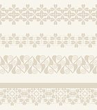 Vector Set of lace ribbons