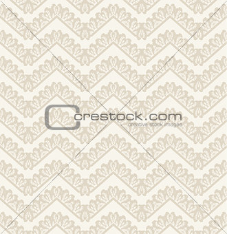 Abstract geometric lace seamless pattern, vector background