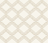 Lace vector fabric seamless  pattern.
