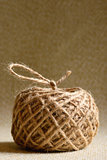 Ball of hemp rope