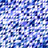 Pastel navy blue, violet and grey vector triangle tile background