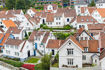 old town in stavanger, norway