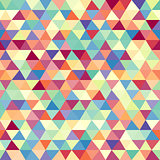 Seamless geometric background. Mosaic.