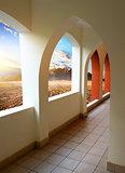 Hotel in desert