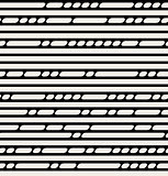 Vector Seamless Black And White Lines Pattern