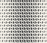 Vector Seamless Black And White Halftone Diadonal Pattern