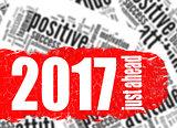 Word cloud 2017 just ahead