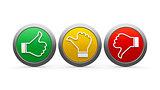 Icons customer satisfaction