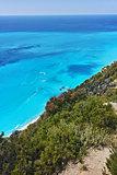 Amazing view of Gialos Beach, Lefkada
