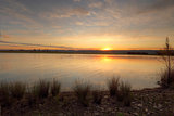 Sunset views over Duralia Lake Penrith