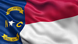 US state flag of North Carolina