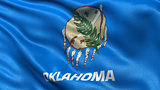 US state flag of Oklahoma