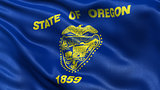 US state flag of Oregon