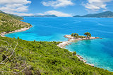 Beautiful beach close to Dubrovnik, Croatia