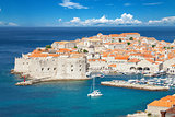 Famous historical town of Dubrovnik, Croatia