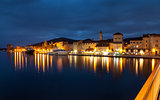 Old coastal town Trogir in Croatia