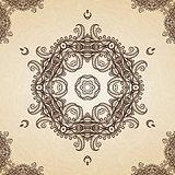 Filigree Henna Pattern