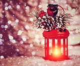 Beautiful Christmas lantern