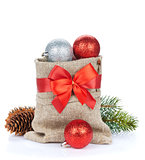 Christmas decor bag