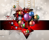 Seasonal Christmas Background for your Christmas Flyers,