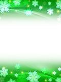 white green christmas background
