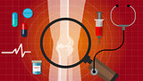 arthritis joint bone problem health care illustration rheumatoid