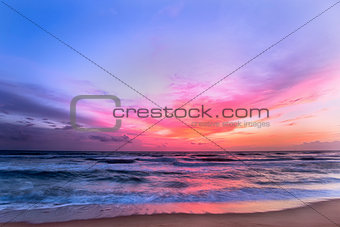 Beautiful Sunset on a Sri Lankan Beach.